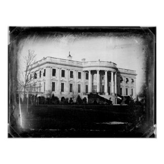 The White House - Southern Facade - 1846 Poster