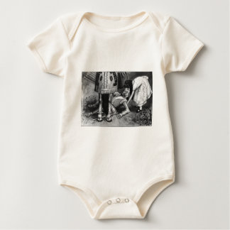 The White Knight Falls Baby Bodysuit