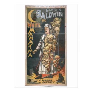 The White Mahatma, 'Baldwin' Vintage Theater Postcard