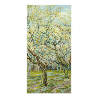 The white orchard by Vincent Van Gogh Photo Card