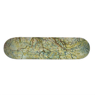 The white orchard by Vincent Van Gogh Skateboard Deck