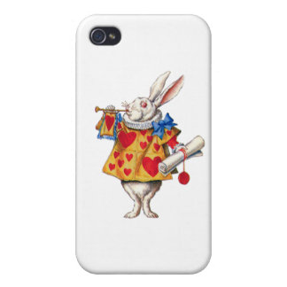 The White Rabbit Calls Court to Order iPhone 4 Cases
