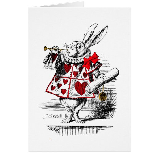 The White Rabbit Greeting Cards