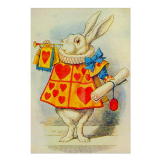 The White Rabbit Full Color Poster
