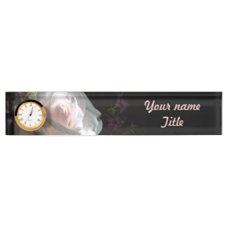 The White Rose - Desk Name Plates