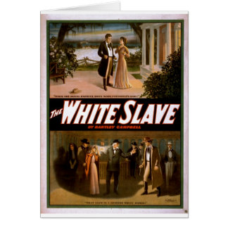 The White Slave by Bartley Campbell 1911 Card
