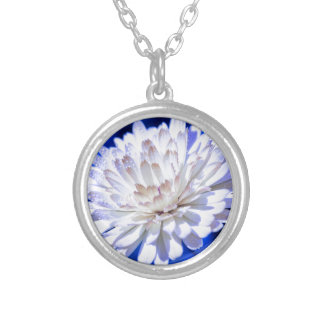 The White Way Silver Plated Necklace