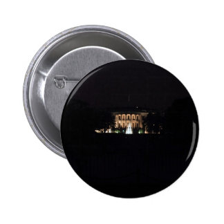 The Whitehouse At Night Pinback Buttons