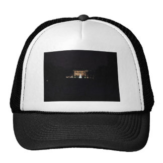 The Whitehouse At Night Trucker Hat