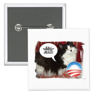 The Whitehouse Pet Kitty Cat Pins