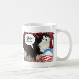 The Whitehouse Pet Kitty Cat Basic White Mug