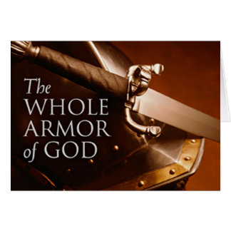 The Whole Armor of God Greeting Card