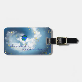 The Whole World In His Hands Luggage Tag