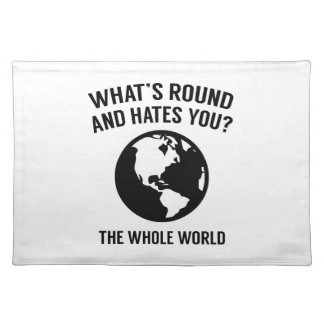 The Whole World Placemat