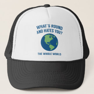 The Whole World Trucker Hat