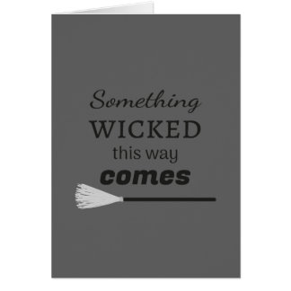 The Wicked Card