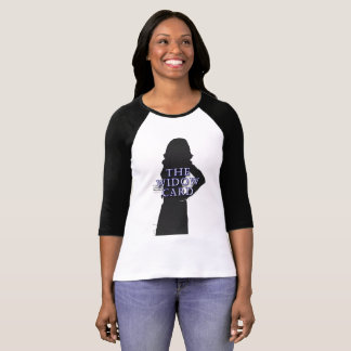 The Widow Card Women's 3/4 Sleeve Raglan T-Shirt