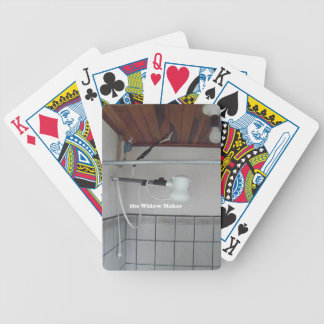 the widow maker bicycle playing cards
