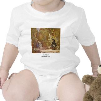The Widower By Spitzweg Carl Tee Shirt