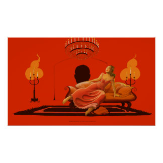 The Wife Of The Slaves Merchand - Red Room Poster