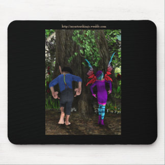 The Wiggle Bum Dance Mouse Pad