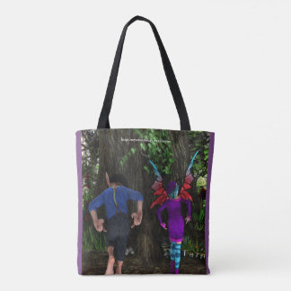 The Wiggle Bum Dance Tote Bag