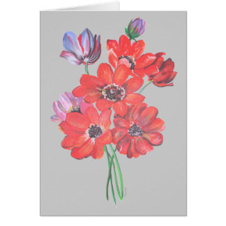 The Wild Anemone Card
