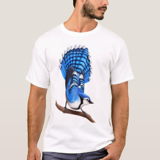 The Wild Blue Jay Bird Shirt