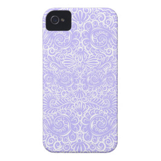 The wild lilac floral vines iPhone 4 cover