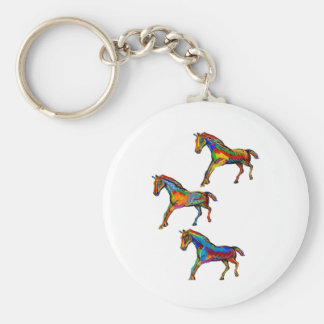 THE WILD SPIRTIS BASIC ROUND BUTTON KEY RING