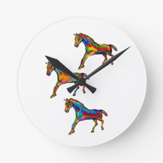 THE WILD SPIRTIS WALLCLOCKS