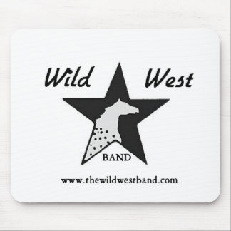 The Wild West Band Mouse Pad