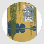 The Wind in the Willows Round Sticker