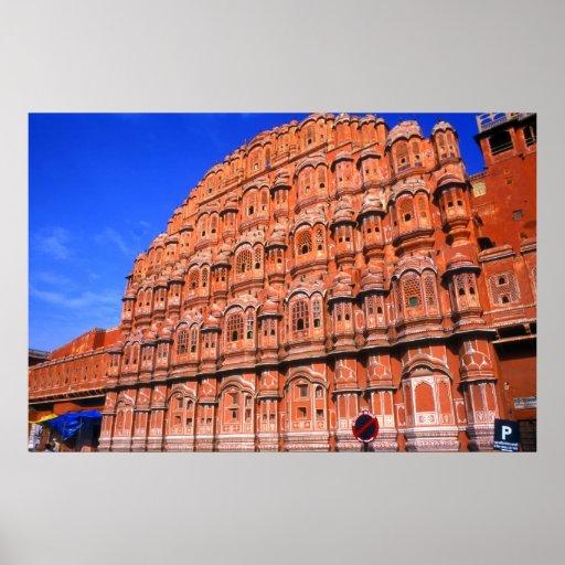 The Wind Palace at Jaipur India Poster Print