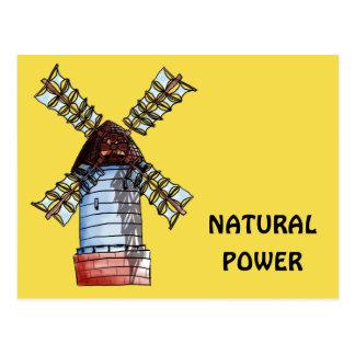 The windmill postcard
