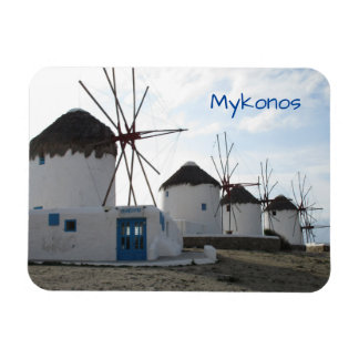 The Windmills, Mykonos, Greece Magnet