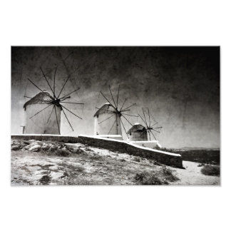 The windmills of Mykonos 2 - Print