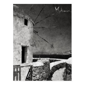 The windmills of Mykonos 3 - Postcard