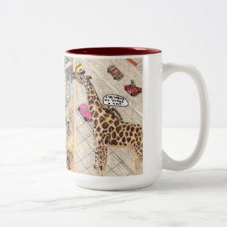 The Window Washers Two-Tone Coffee Mug