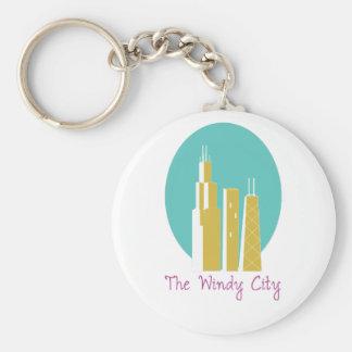 The Windy City Key Chain