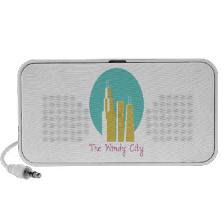 The Windy City Portable Speaker