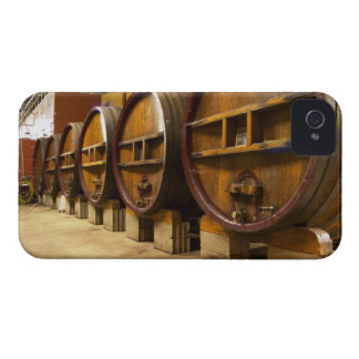 The wine cellar winery with big old wooden casks Case-Mate iPhone 4 cases