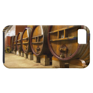 The wine cellar winery with big old wooden casks tough iPhone 5 case