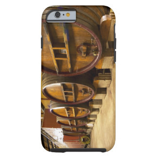 The wine cellar winery with big old wooden casks tough iPhone 6 case