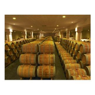 The winery, barrel aging cellar - Chateau Baron Postcard