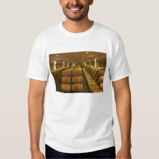 The winery, barrel aging cellar - Chateau Baron Tee Shirts