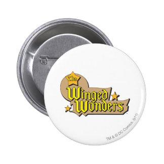 The Winged Wonders Logo 6 Cm Round Badge
