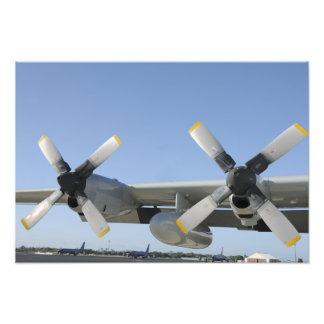 The wings of an LC-130 Hercules Photo Print