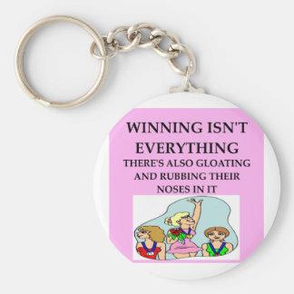 the winner keychains