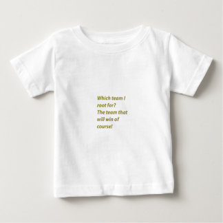 The winning supporter baby T-Shirt